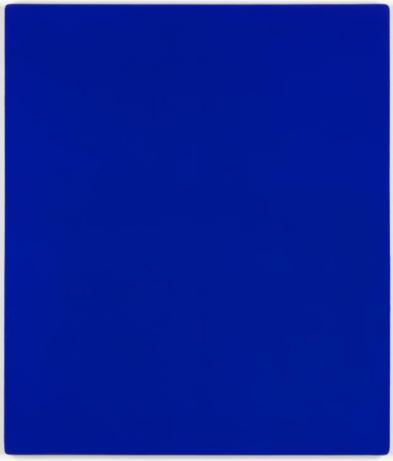 IKB 79 1959 Yves Klein 1928-1962 Purchased 1972 http://www.tate.org.uk/art/work/T01513